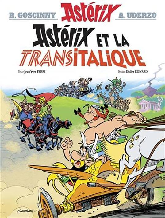 ASTERIX TOME 37   ASTERIX ET LA TRANSITALIQUE